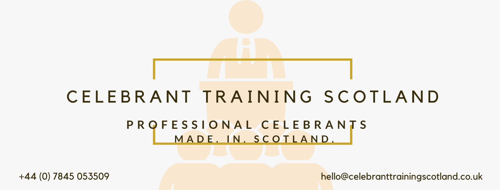 Celebrant Training Scotland